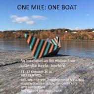 One Mile One Boat Art Centro Poughkeepsie USA
