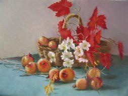 Autumn Still Life Oil