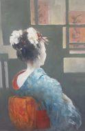 Geisha 76 x 91cm