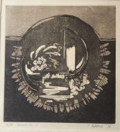 Mandala I 1978 26 X 25cm Etching