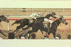 Pakenham Cup 2013 Oil on Canvas 2017 61 x 91cm