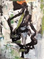 Treescape Mixed Media on Canvas 2015