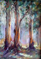 Howqua Trees Pastel $600AUD
