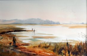 Mahers Landing Watercolour SOLD