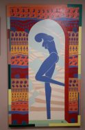 Inner LIfe, 1997, acrylic on Canvas 153cm x 92cm