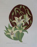 Art Nouveau Lilies