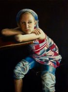 In Retrospect Oil on canvas 91 x 121cm