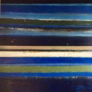 Many Horizons 3 Acrylic on linen 109 x 109cm 2017